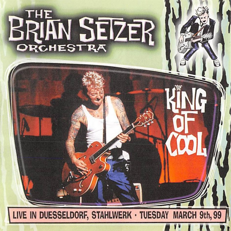 CD - Brian Setzer Orchestra - King of Cool