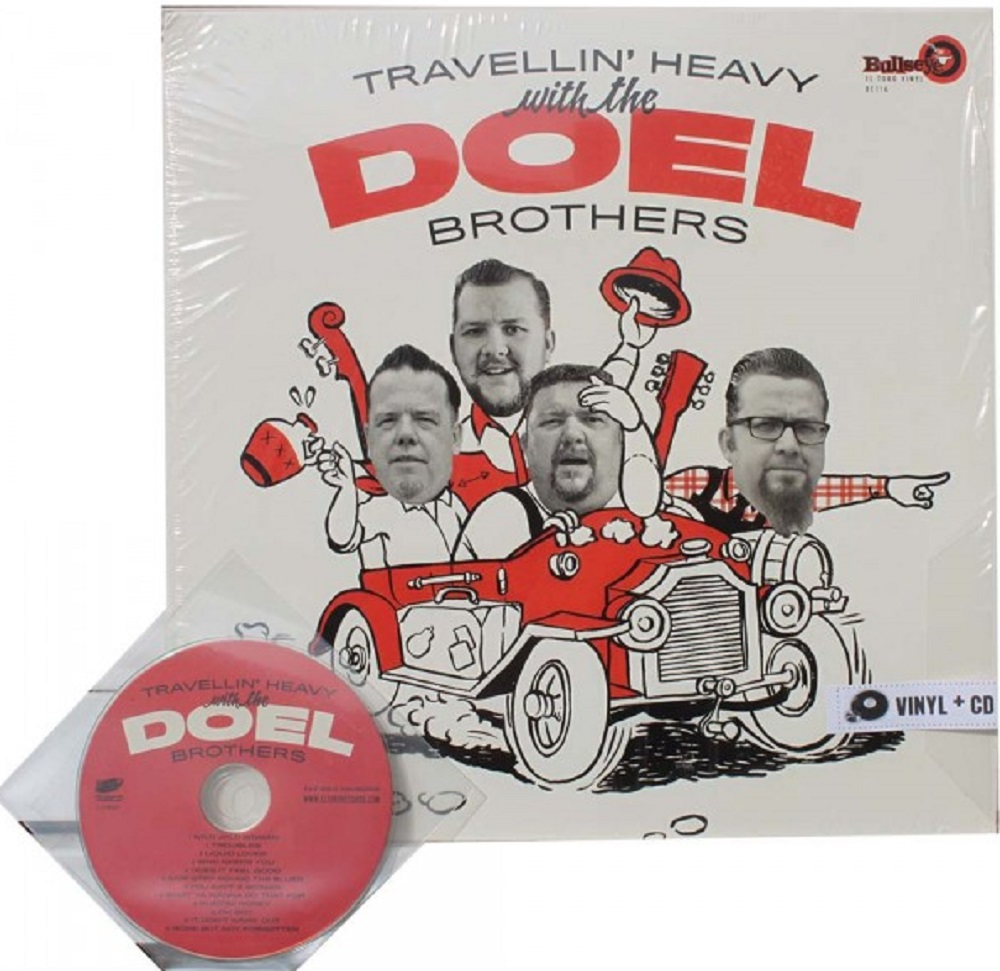 LP - Doel Brothers - Travellin' Heavy With The Doel Brothers? + CD