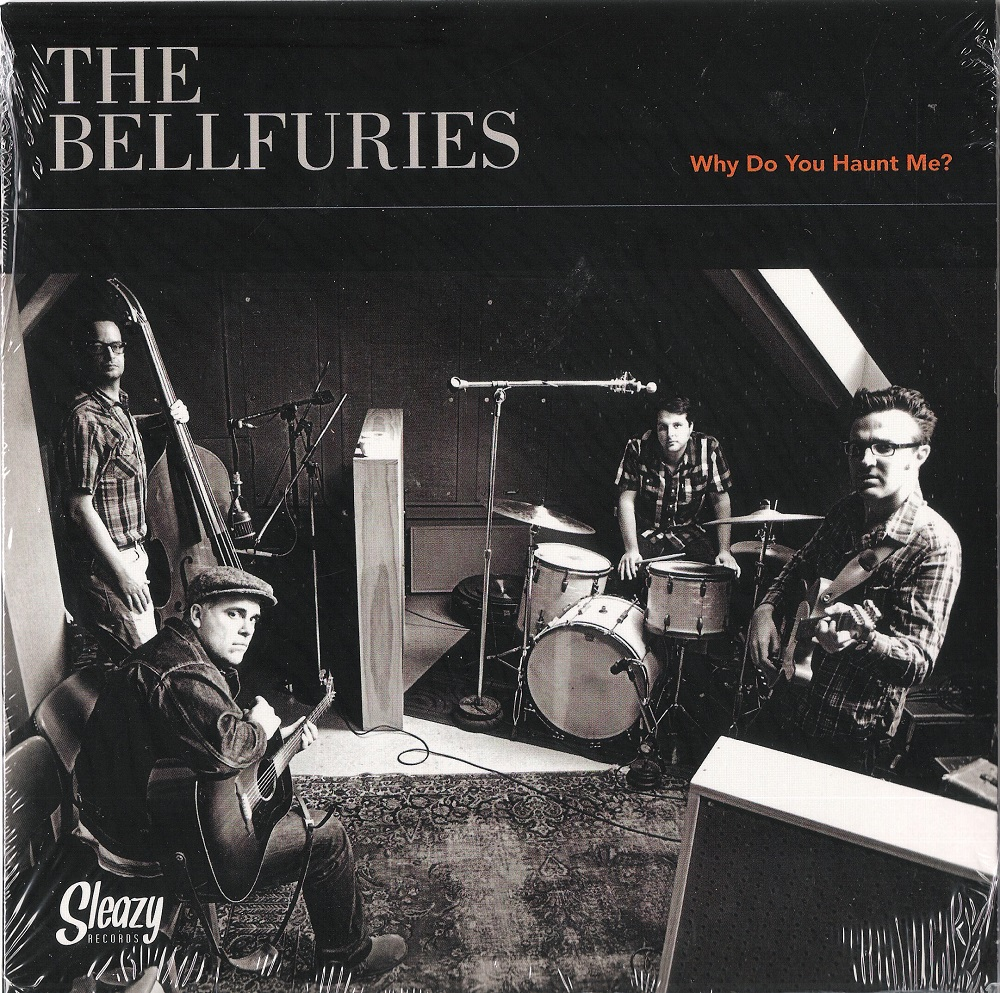 Single - VA - The Bellfuries / The Hellfuries - Why Do You Haunt Me / Where Eagles Dare