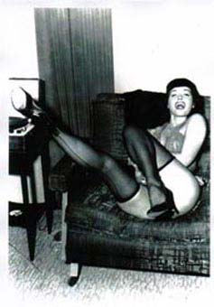 Poster DIN A3 - Bettie Page - Laughing