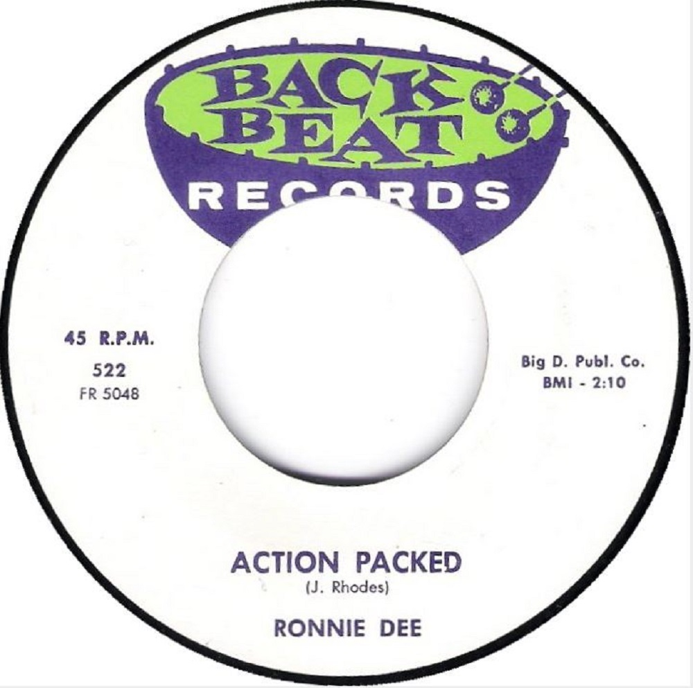 Single - Ronnie Dee - Action Packed, I Make The Love