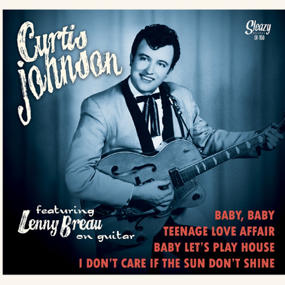 Single - Curtis Johnson Feat. Lenny Breau - Baby, Baby