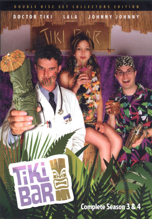 DVD - Tiki Bar TV, Complete Season 3 & 4
