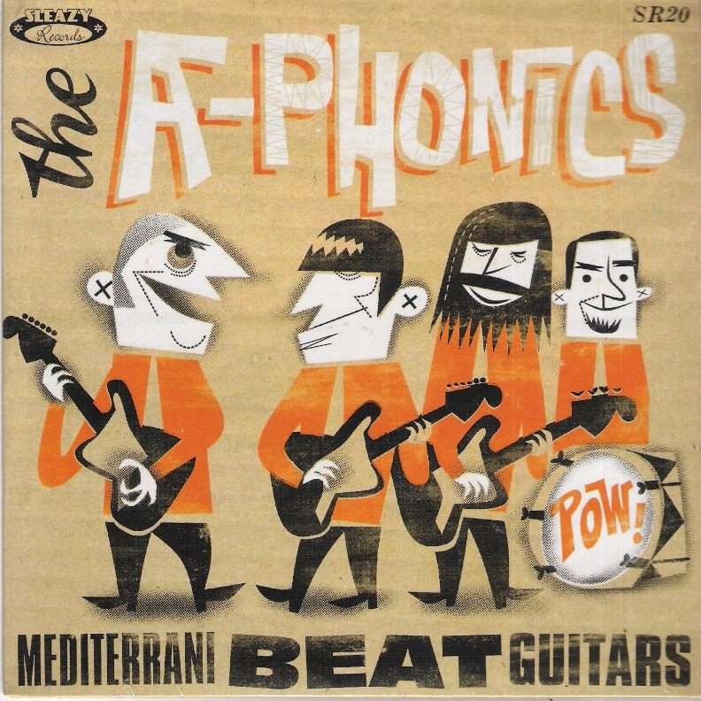 Single - A-Phonics - Mediterrani Beat Guitars