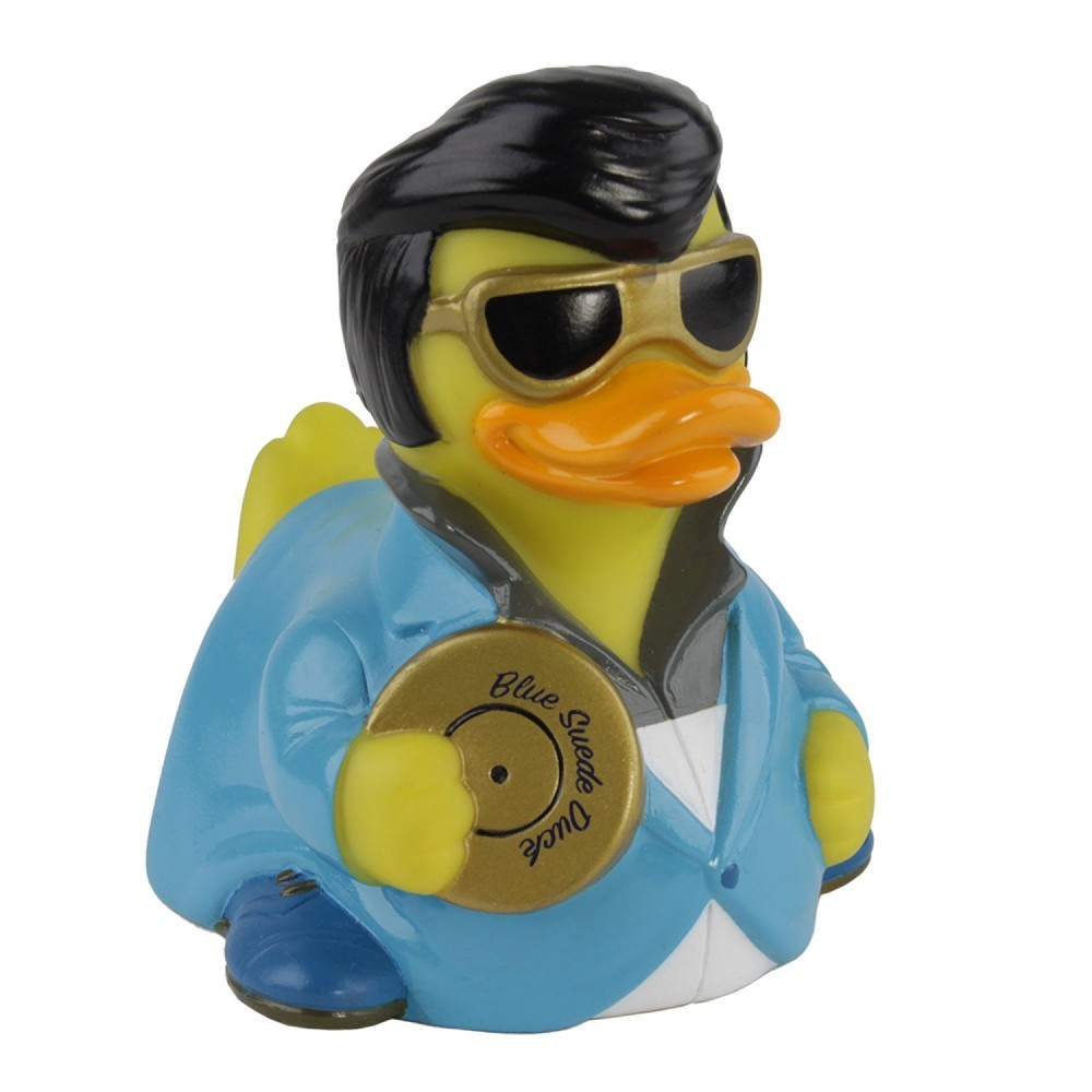Duckie - Blue Suede Duck