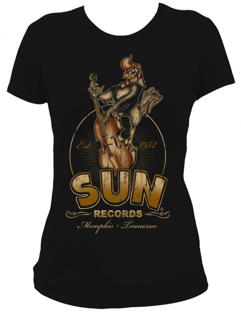 Girl-Shirt Steady - Sun Records Roosterbilly