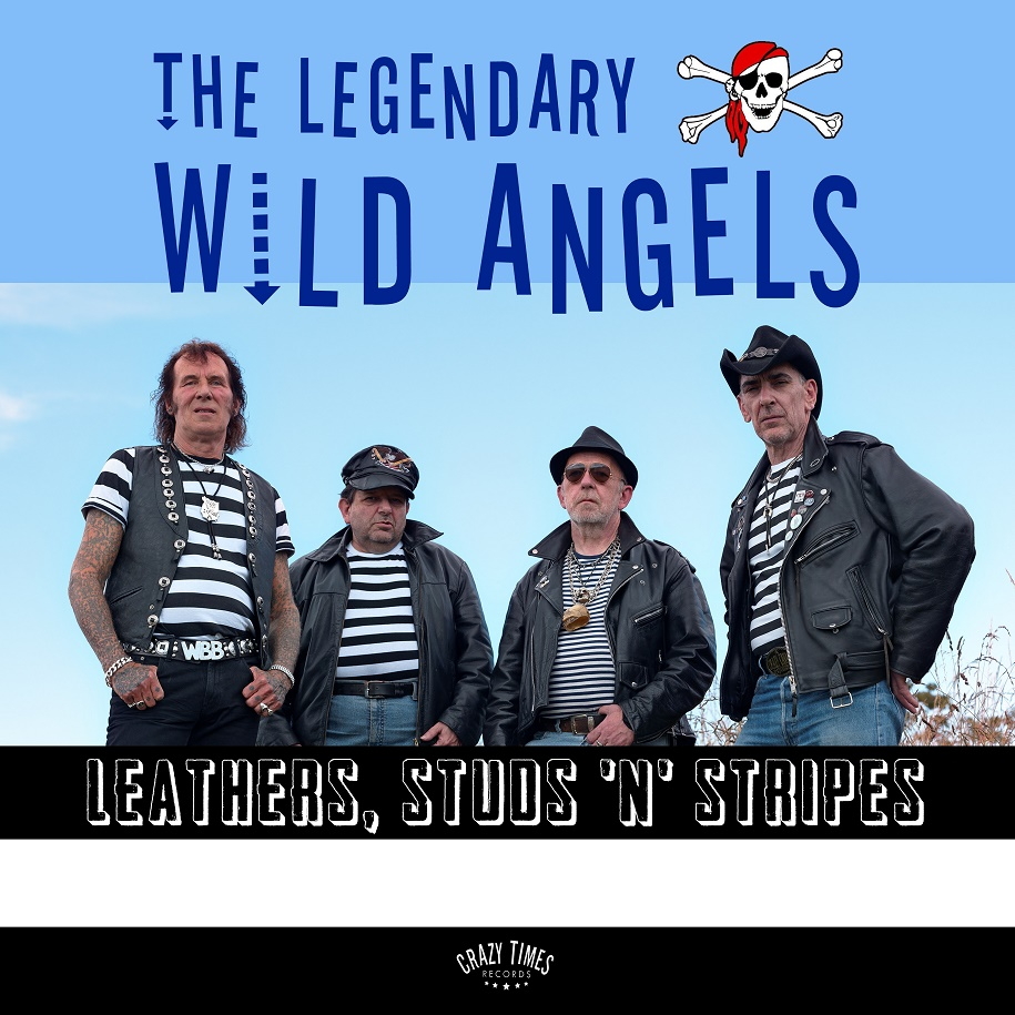 LP - Wild Angels - Leathers, Studs ?n? Stripes