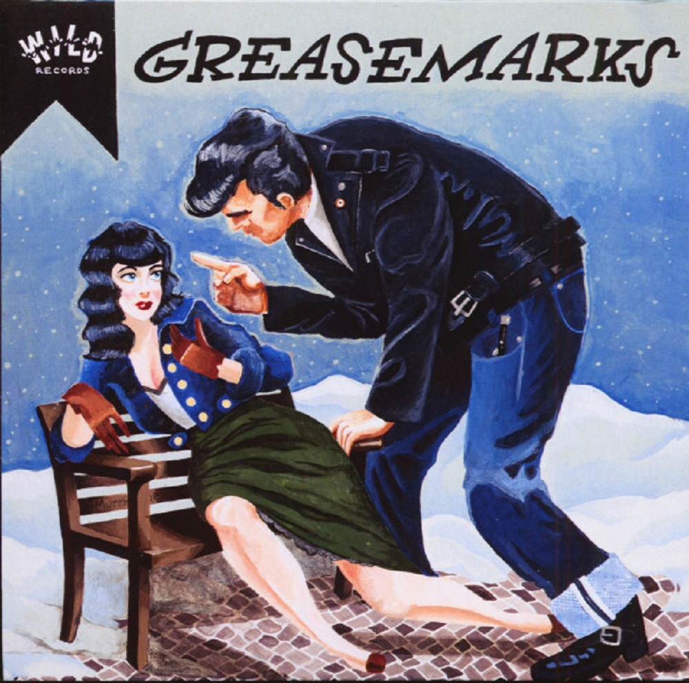 CD - Greasemarks - Knock 'Em Down
