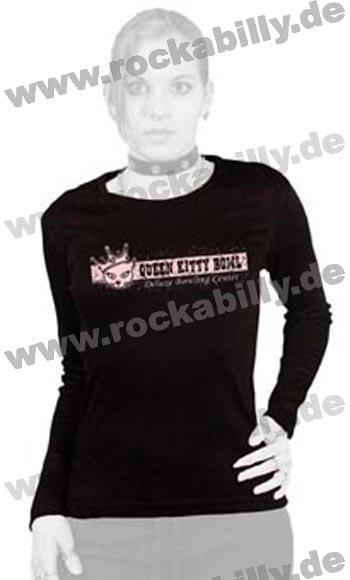 King Kerosin Langarm-Shirt - Queen Kitty Bowl