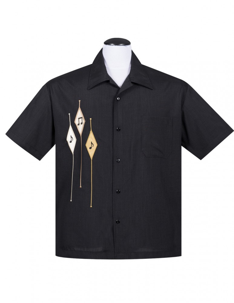 Steady Hemd - Diamond Note Shirt
