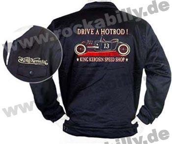 King Kerosin Workerjacke - Drive A Hotrod
