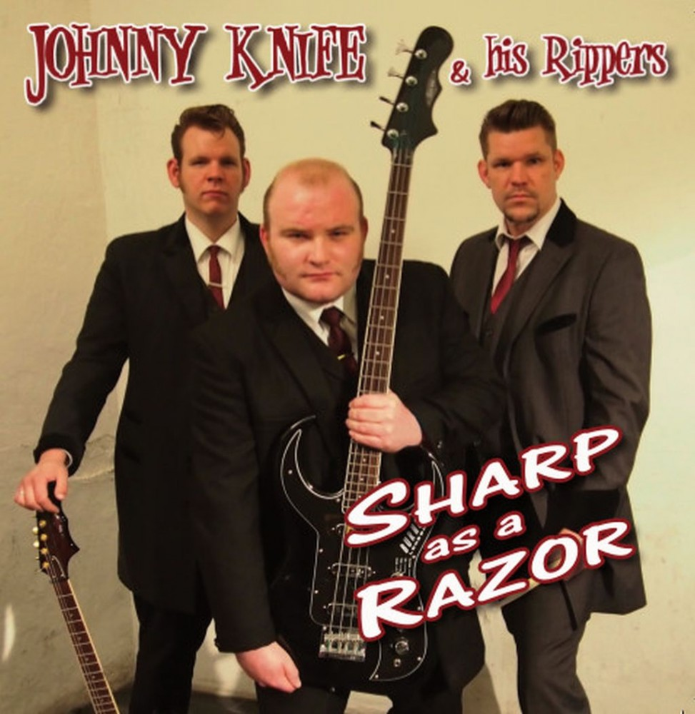 CD - Johnny Knife & His Rippers - Sharp As A Razor