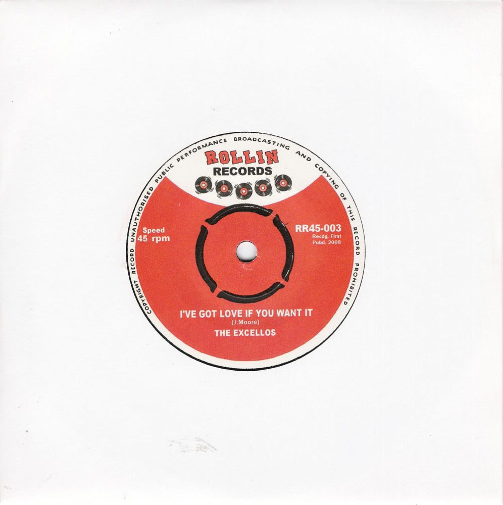 Single - Excellos - I've Got Love If You Want It, Susie Q