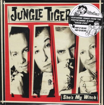 Single - Jungle Tigers - She's My Witch, Dizzy Phone, Green Eyes