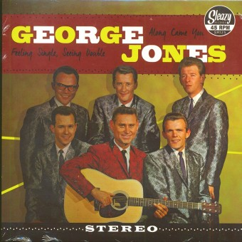 Single - George Jones - Along Came You, Feeling Single, Seeing Double
