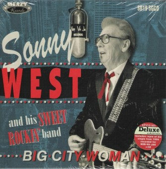 Single - Sonny West And His Sweet Rockin' Band - Big City Woman
