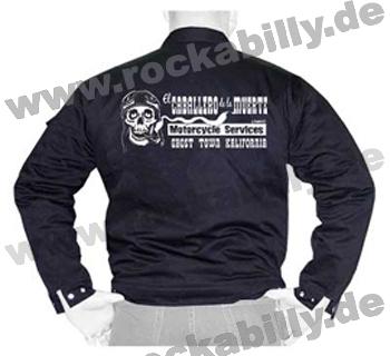King Kerosin Workerjacke - El Caballero De La Muerte Motorcycle Service