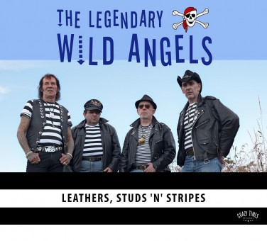 CD - Wild Angels - Leathers, Studs'n'Stripes