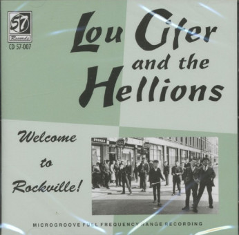 CD - Lou Cifer & The Hellions - Welcome To Rockville!