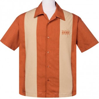 Steady Hemd Simple Times Button Up, Rost