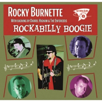 CD - Rocky Burnette - Rockabilly Boogie