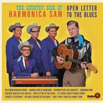LP - Harmonica Sam - The Country Side Of - Open Letter To The Blues