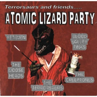 CD - Terrorsaurs - Atomic Lizard Party