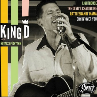 10inch - VA - King D And The Royals Of Rhythm / The New! Attention
