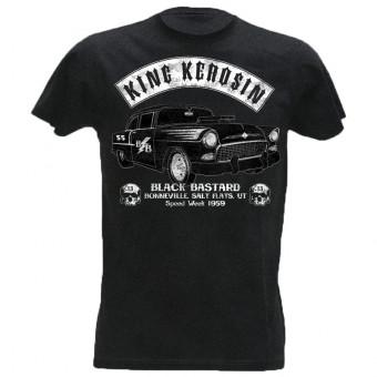 T-Shirt King Kerosin Vintage T-shirt  - Black Bastard