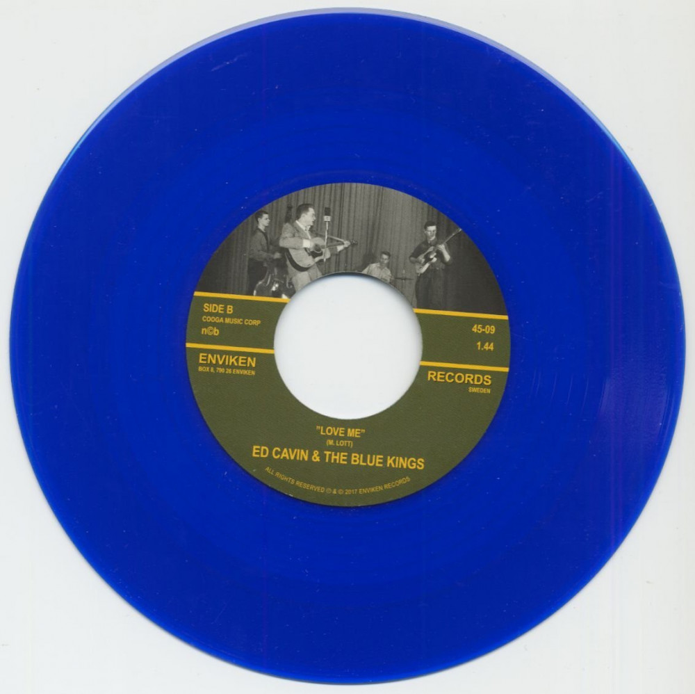 Single - Ed Cavin & The Blue Kings - Don?t Be Like That, Love Me
