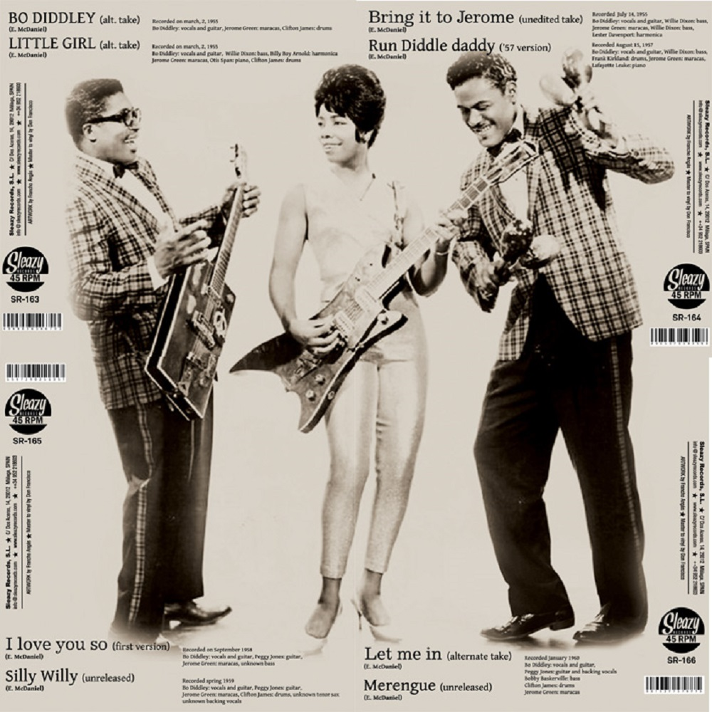 Single - Bo Diddley - 1955 and 1957 alternative takes