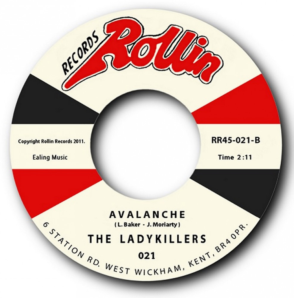 Single - The Ladykillers - Set Her Free, Avalanche
