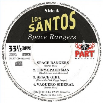 CD - Los Santos - Space Rangers