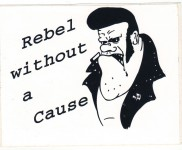 Aufkleber - Rebel Without A Cause