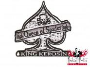 King Kerosin Aufnäher - Queen Of Spades