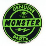 Hot Rod Aufkleber - Genuine Monster Part
