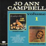 CD - Jo Ann Campbell - Vol. 1 - I'm Nobody's Baby / For Twistin' And Listenin'
