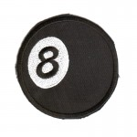 Aufnäher - 8 Ball