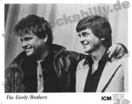 Autogramm-Foto - Everly Brothers