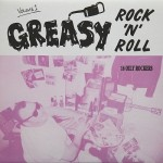 LP - VA - Greasy Rock and Roll Vol. 1