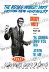 DIN A3 Poster - Buddy Holly - Listen To Me - I'm Gonna Love You