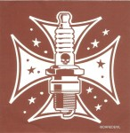 Sticker - Iron Cross Spark