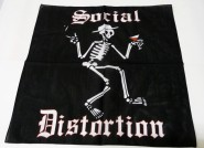 Bandana - Schwarz Social Distortion