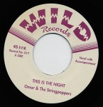 Single - Omar & the Stringpoppers - 1. This Is The Night, Shake A Hand