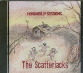 CD - Scatterjacks - Honkabilly Sessions