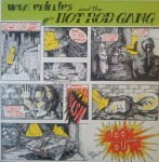 LP - Dave Phillips & The Hot Rod Gang - Look Out