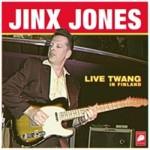 CD - Jinx Jones - Live Twang in Finland
