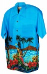 Hawaii - Shirt - Serenade Light Blue