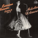 LP - Caterina Valente - Melodia D'Amore - Edition 8 - 1956-57
