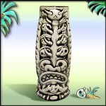 Tiki Mug - Cannibal King Mug, Black Wiped